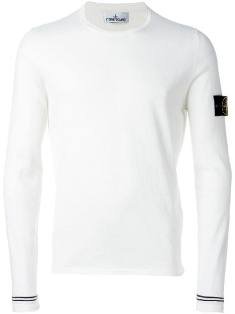 Logo Patch Jumperhome Men Clothing Jumpers by Stone Island