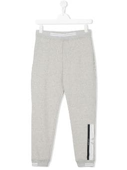 TEEN logo stripe track pants