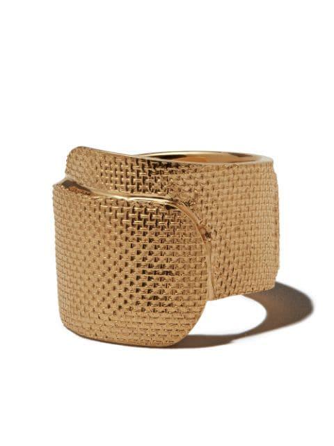AMBUSH Tape textured ring
